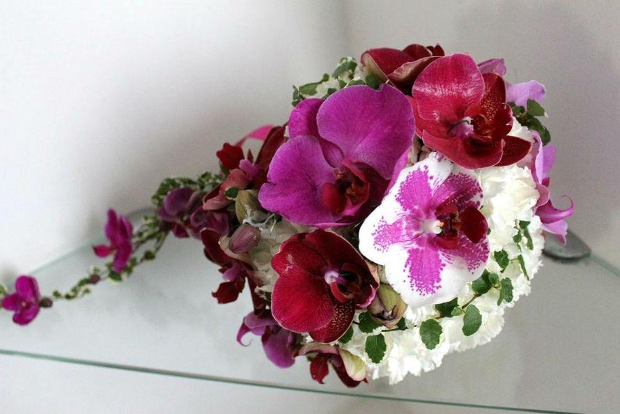 Букет омске, букет гвоздики орхидеей фото