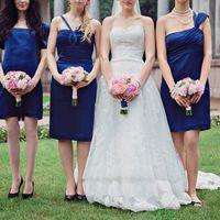 Букетики невесты и её подружек