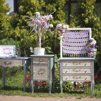 Дерево пожеланий и рассадка гостей. Романтичная мебель - часть гармоничного декора от Незабудки.