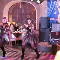 """Скрипичное Шоу """"Fieria"""" на пятом областном фестивале эстрадной музыки в ресторане """"Плакучая Ива"""""""