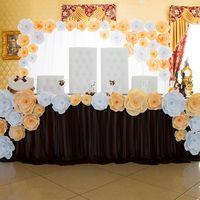 Свадебное оформление банкета