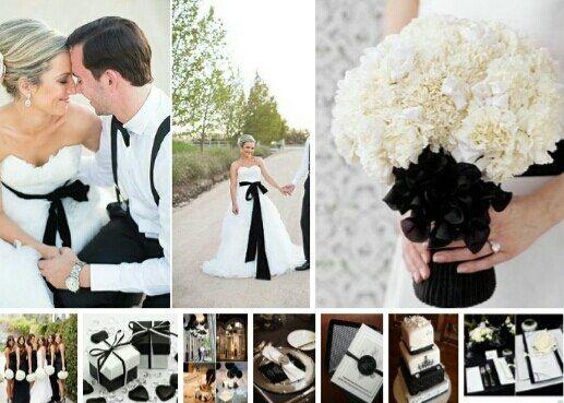 черно-белая свадьба для решительной пары) - фото 2277598 Perfect Wedding - организация незабываемых свадеб