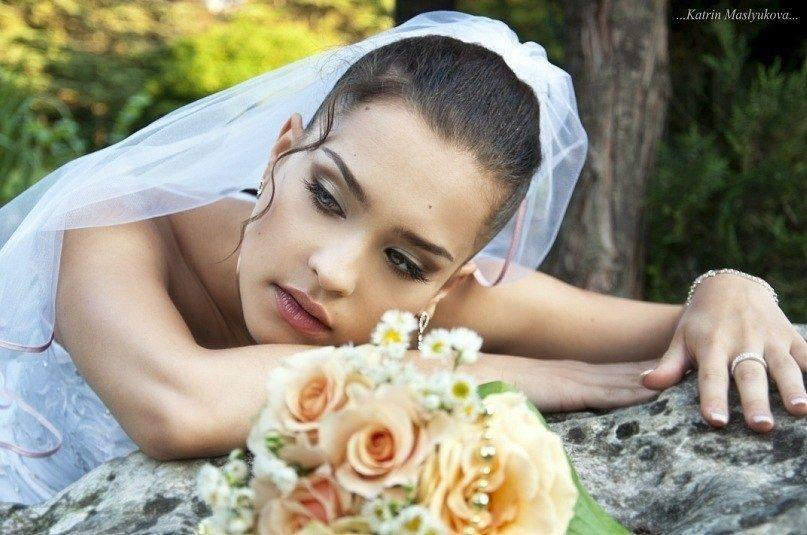 Свадебный макияж визаж прическа Симферополь - фото 2211460 Оксана Негру - стилист-визажист