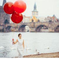 Свадьба Ксении и Сергея в пражском Клементинуме. Фото - Женя Овсянникова