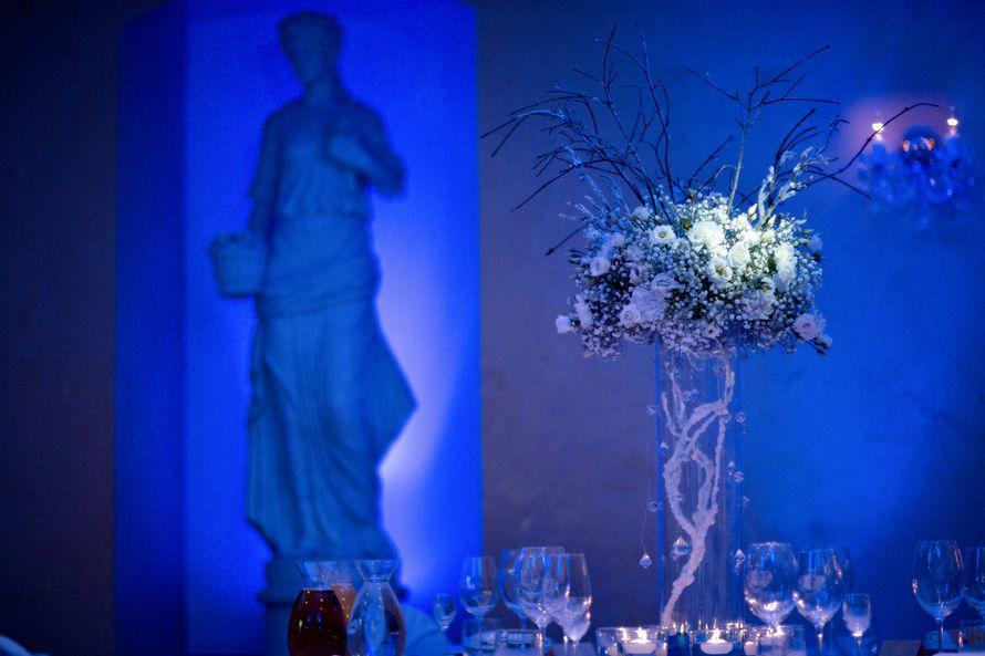 """Зимняя свадьба в Праге. Свадебный декор в зимнем стиле. - фото 3800405 """"Luxe svadba"""" - свадьба в Чехии"""