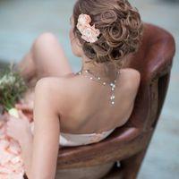 Свадебный образ невесты от стилистов Студии свадебного стиля Moskva Art Group