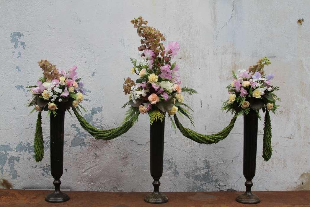 Композиции для оформления стола в стиле РОКОКО - фото 5557510 Green Umbrella - флористика и декор