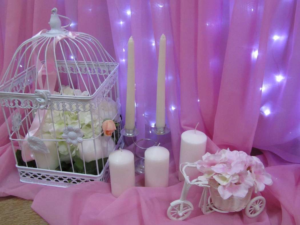 Розовая свадьба фото 10