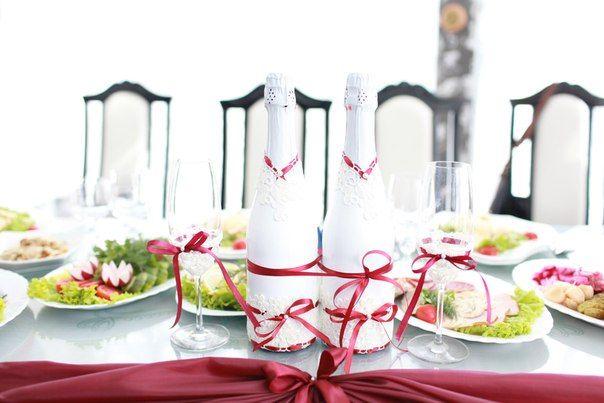 """Фото 2926111 в коллекции Свадьба в бордовом стиле - Свадебная студия """"Айвори"""", оформление"""