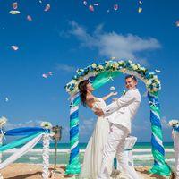 Свадебная арка в морском стиле