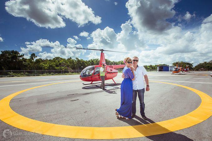 Вертолет в Доминикане