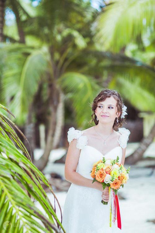 "Дарьяна и Никита. Свадьба в стиле ""Морская Орхидея"""