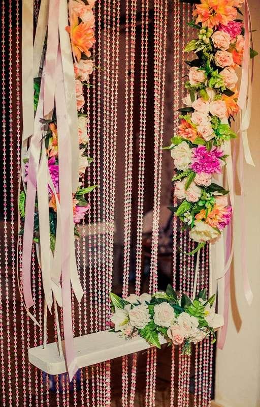 """фон-занавеска из бусин может вешаться отдельно - фото 2260642 Студия свадебного декора """"Антураж"""""""
