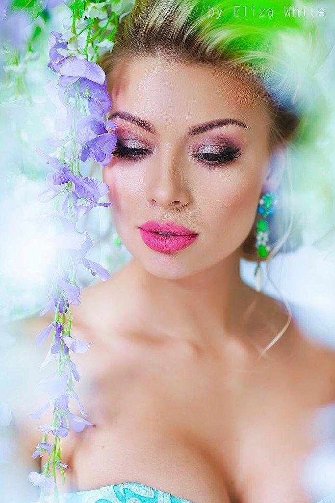 сочный, яркий, свадебный, низкий пучок, косы, сексуальный, чувственный, принцесса - фото 4635311 Стилист-визажист Катрина Петренко