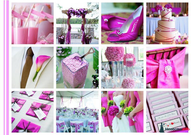Оформление свадьбы в одной цветовой гамме