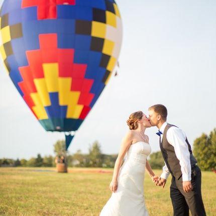 Выездная регистрация на воздушном шаре