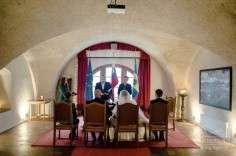 Фото 5387513 в коллекции Бело-голубая свадьба на Небесной террасе - Агентство Интерус - свадьбы в Словении