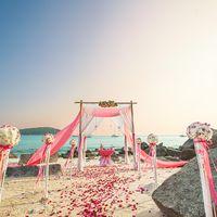 свадебная церемония в Тайланде
