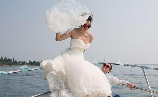 Свадебная фотосессия на озере Гарда. Италия - фото 7190586 Italia Viaggi - организация свадеб