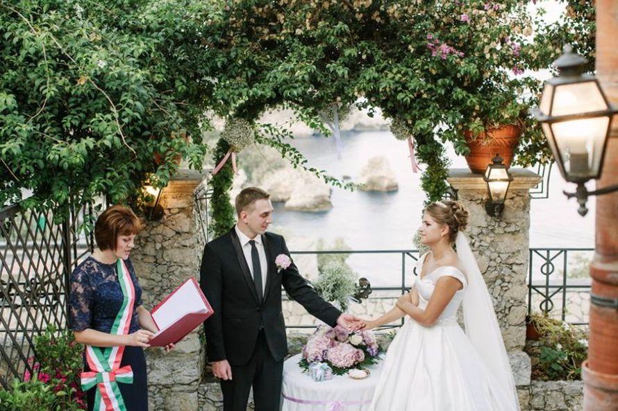 Свадьба в Таормине - фото 16048608 Italia Viaggi - организация свадеб