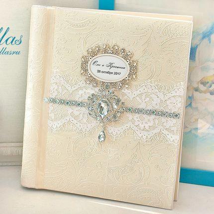 Фотоальбом с магнитными листами в цвете шампань