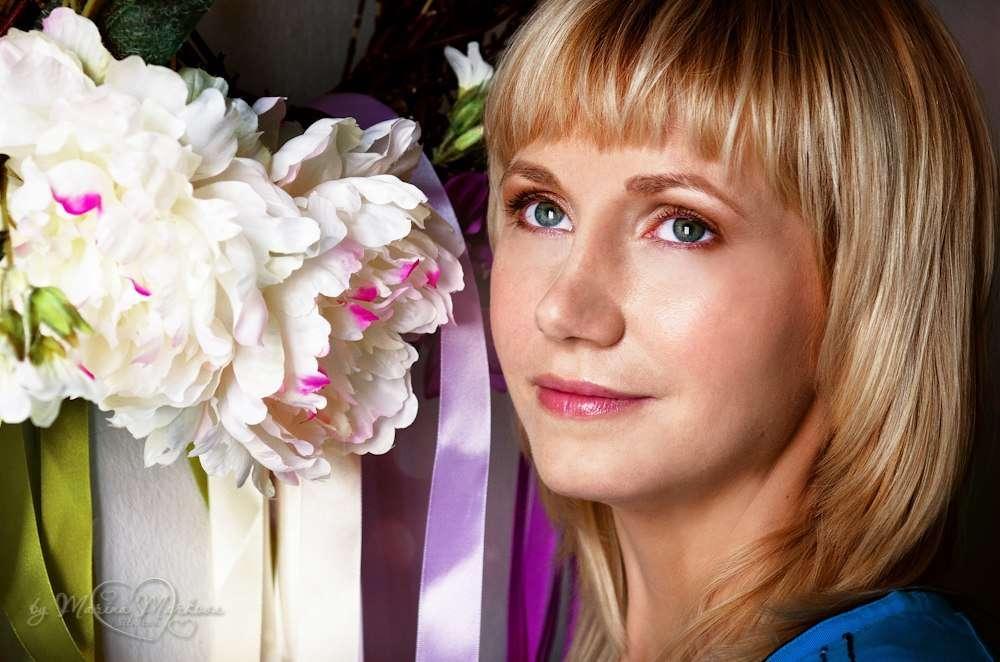 Дневной макияж и укладка! фотограф Марина Маркова - фото 9141532 Стилист-визажист Инна Соловьева