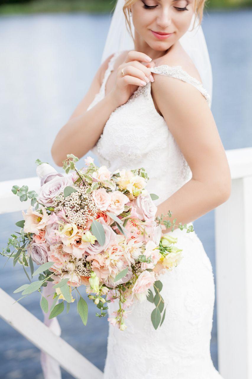Букет невесты - фото 16389880 Флорист Наталья Жукова