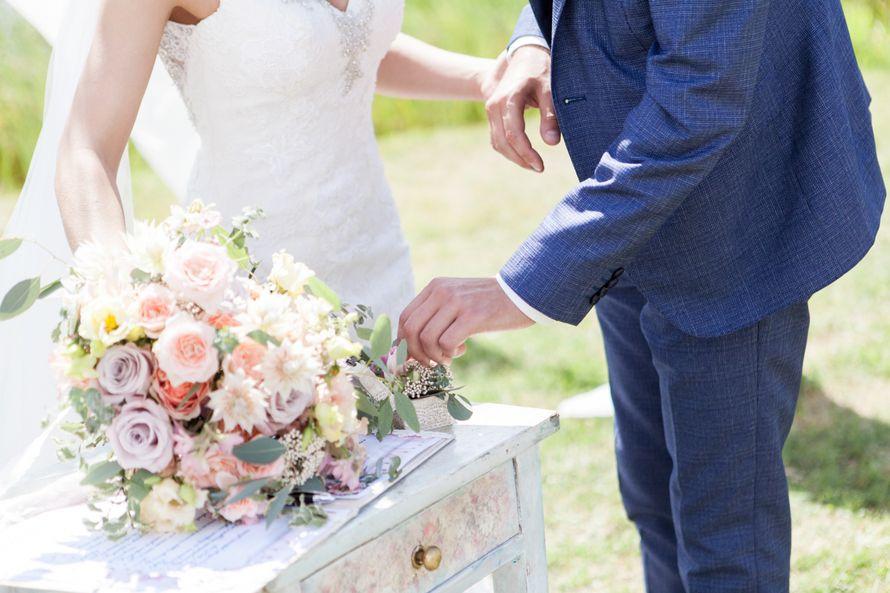 Букет невесты - фото 16389896 Флорист Наталья Жукова