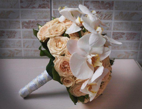Роз, букет невесты киев цветы