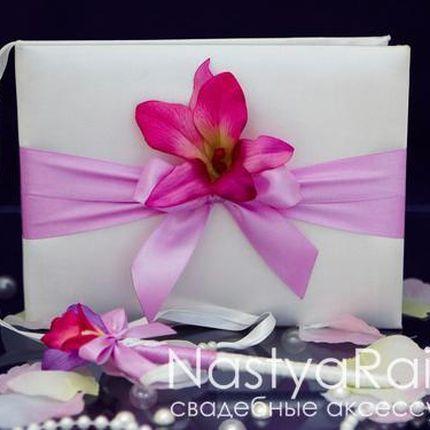 Свадебный альбом с орхидеей