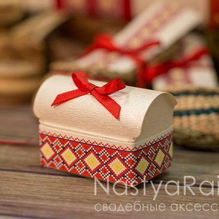 Бонбоньерка сундучок славянские мотивы