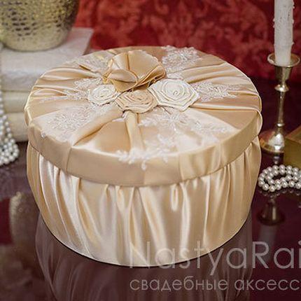 Свадебная коробка для подарков мадемуазель