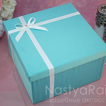 Коробка свадебная Тиффани