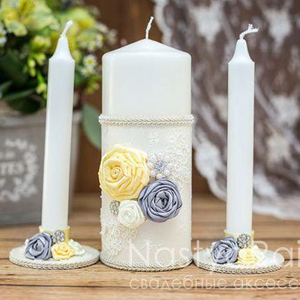 Свечи для свадебной церемонии Розали