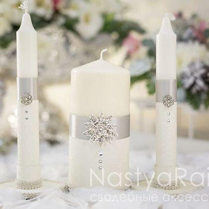 Свадебные свечи королева
