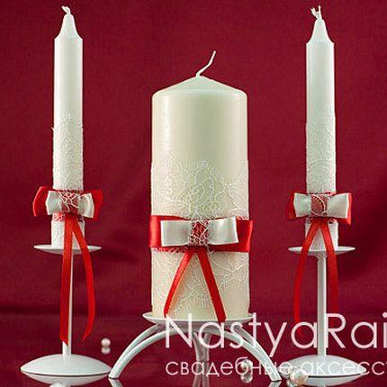 Свадебные свечи коллекция лилль