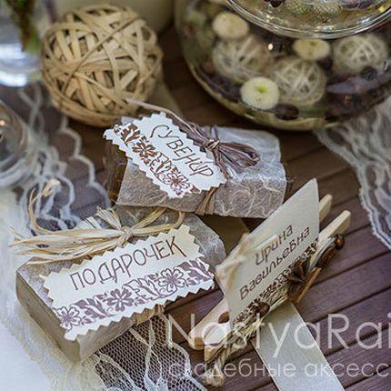 Сувенирное мыло с натуральными травами