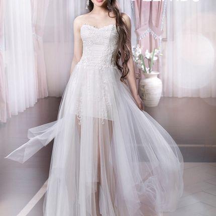 Свадебное платье Меланта сетка