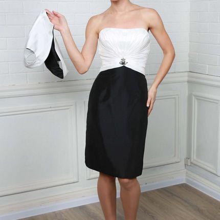 Короткое свадебное платье C0192B