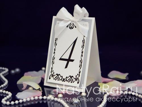 Карточки для стола номер стола своими руками