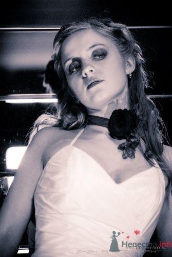 Украшение для невесты на шею в виде цветка. - фото 480 Невеста01