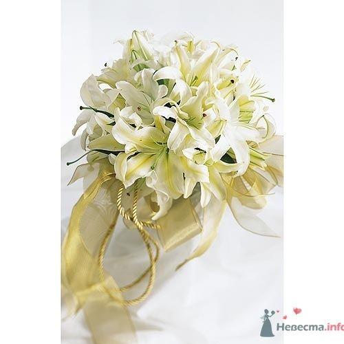 """Свадебный букет """"Лия"""" - фото 403 Mallina Botanique - праздничное оформление"""