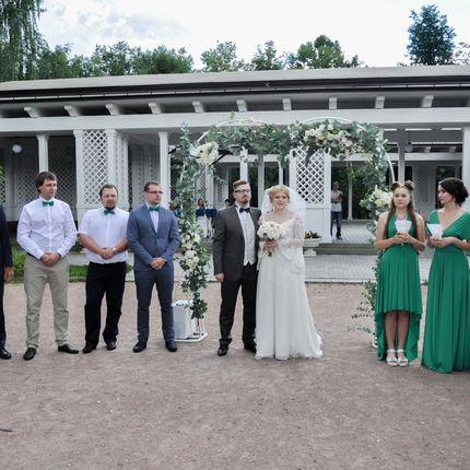 """Аренда свадебной беседки в парке """"Сокольники"""""""