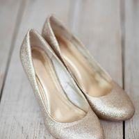 золотые туфли невесты