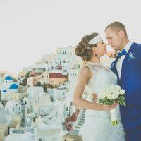 свадебный визаж и причёска в Греции ( о. Санторини, Крит )