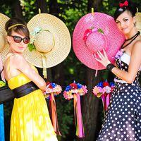 Подружки невесты - ретро стиль
