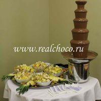 Шоколадный фонтан 80см, шоколад молочный