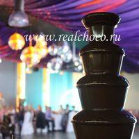 Шоколадный фонтан 60см, темный шоколад