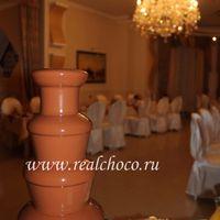 Шоколадный фонтан 60см, молочный шоколад