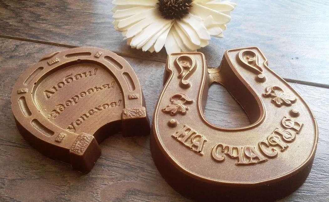 """Шоколадные подковы - фото 14760382 """"Вкус жизни"""" - сладкие подарки на свадьбу"""